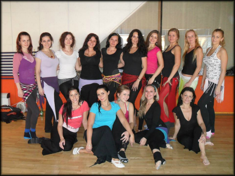 Workshopy s Katkou Krejčovou a Zaghareet v Trnave