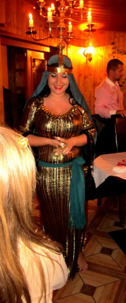 Libanonská reštaurácia Samir, egyptská svadba / egyptian wedding celebration