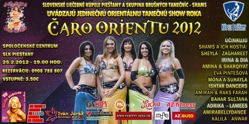 Čaro orientu Piešťany 2012