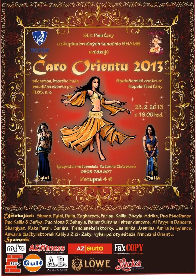 Zaghareet in Čaro orientu 2013
