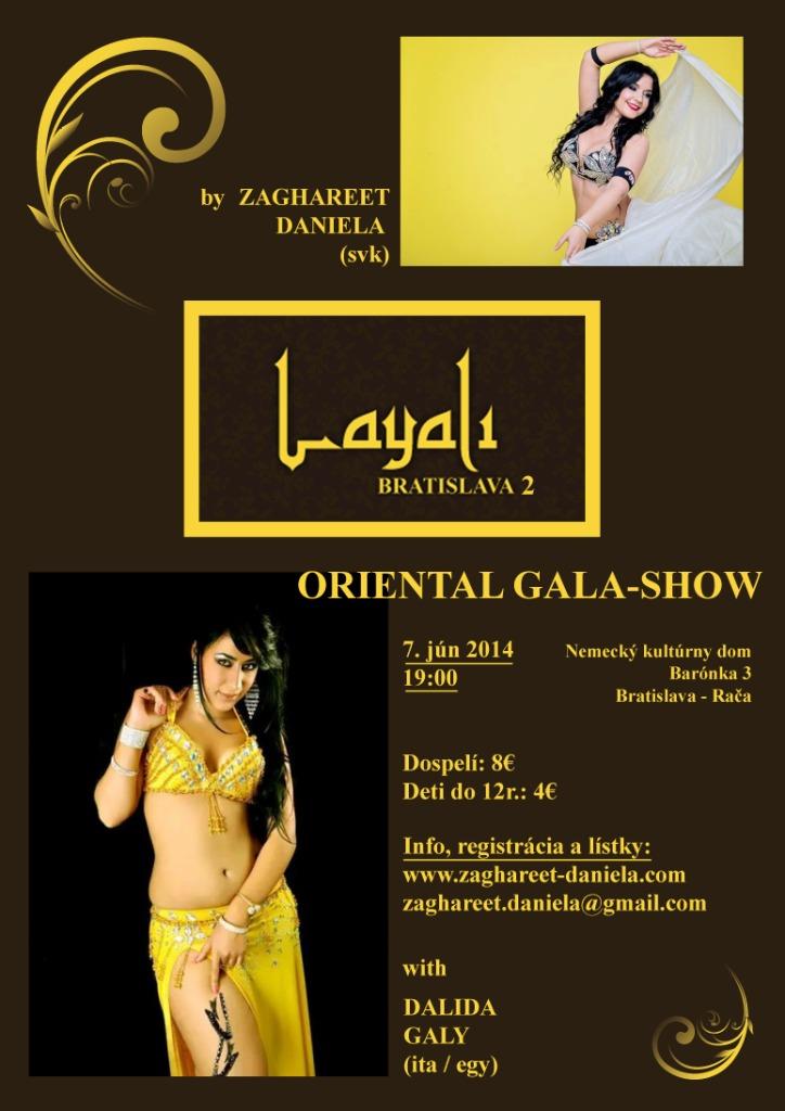 Layali Bratislava 2 gala show